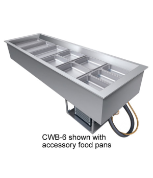Drop-In Refrigerated Well, (1) pan size, top mount, electronic temperature contr