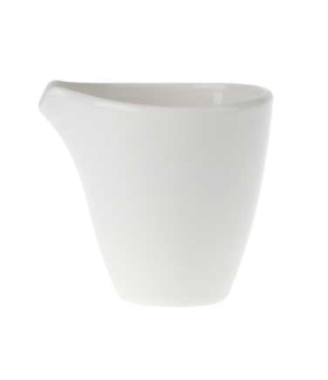 Creamer, 6-3/4 oz., premium porcelain, Flow