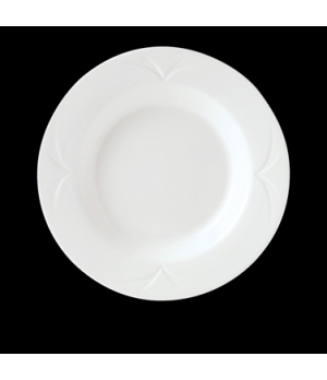 "Soup Plate/Bowl, 12 oz., 8-3/4"" dia., round, rimmed, Distinction, Bianco, Monet"