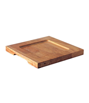 "Board, 7-1/2"" (19 cm), square, for CI MH6101-06, Oven to Table, wood"