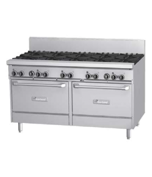 "GF Starfire Pro Series Restaurant Range, gas, 60"", (10 26,000 BTU open burners,"