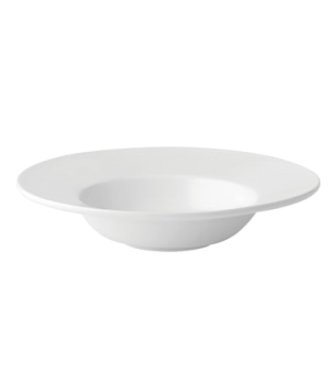 "Soup Bowl, 12 oz. (355ml), 9-1/2"" (24cm), round, rimmed, porcelain, microwave an"