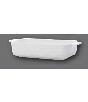 """Baking Dish, 9-1/2"""" x 5-1/2"""", rectangular, with handles, oven, microwave and dis"""