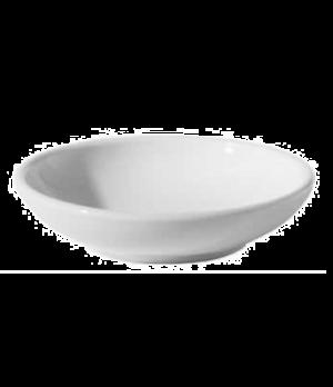"""Dish, 4 oz. (0.12 liter), 4-1/4"""" (10-1/2 cm), round, scratch resistant, oven & m"""