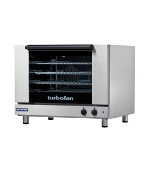"Turbofan Convection Oven, electric, countertop, compact 31-7/8"" width, (4) full"