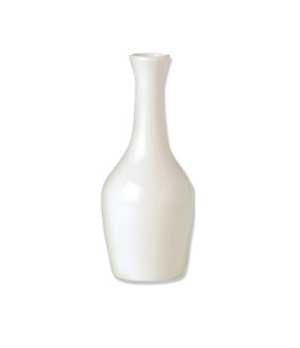 "Bud Vase, 5-3/4""H, vitrified china, Performance, Plain Ivory (non-stock item) (m"