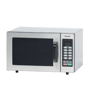 Commercial Microwave Oven, 1000 Watts, compact, 6 power levels, 10 programmable