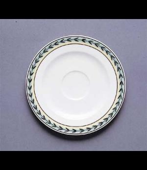 """Saucer, 5-7/8"""", premium porcelain, French Garden-Dampierre"""