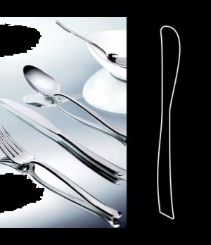 "Butter Knife, 7-1/4"", solid handle, stainless steel, La Tavola, Yuki (USA stock"