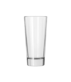 "Beverage Glass, 12 oz., DuraTuff®, Elan (H 6-1/4""; T 3""; B 2-1/4""; D 3"")"