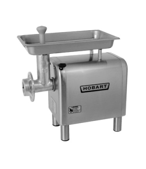 Meat Chopper, bench type, #22 hub, 1.5 Hp motor, 12-20 lb/min capacity, stainles