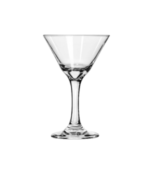 "Martini Glass, 7-1/2 oz., Safedge® Rim and foot guarantee, EMBASSY®, (H 6-3/8"";"