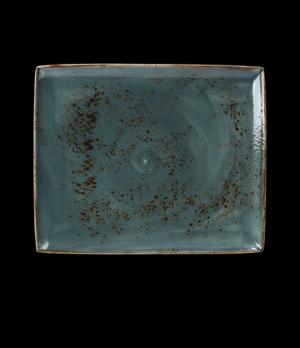 "Platter, 13-1/2"" x 10-5/8"", rectangular, narrow rim, freezer/microwave/dishwashe"