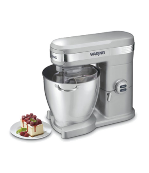 Stand Mixer, 7 qt. capacity, 12 mixing speeds, full die cast housing, includes s