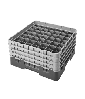"""Camrack® Glass Rack, with 4 extenders, full size, 49 compartments, 2-7/16"""" max."""