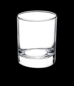 "Rock Glass, 8-1/2 oz., 2-3/4"" x 1-1/2"", tempered, Bormioli, Cortina (USA stock i"