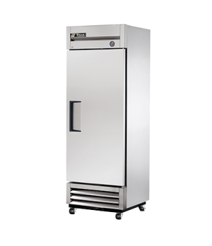 Freezer, Reach-in, -10° F, one-section, stainless steel door, stainless steel fr