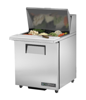 "ADA Compliant Mega Top Sandwich/Salad Unit, (9) 1/6 & (3) 1/9 size (4""D) poly pa"