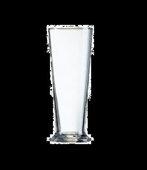 "Pilsner Glass, 23 oz., glass, Arcoroc, Linz (H 8-1/2""; T 3-5/16""; B 3-1/4""; M 3-"