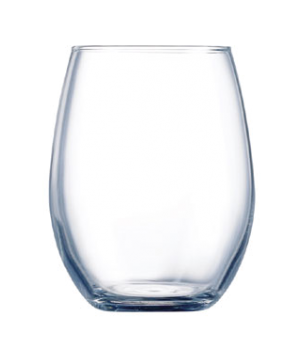 Rocks Glass, 9 oz., sheer rim, glass, Kwarx®, Chef & Sommelier, Primary (H 3-1/2