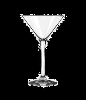 Martini, 8 oz, impact & shatter-resistant, dishwasher safe, freezer safe, temper