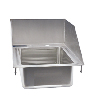 "(39785) Drop-In Sink, one compartment, 10"" wide x 14"" front-to-back x 5"" deep, 6"