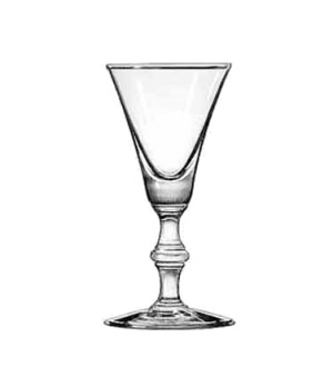 "Sherry Glass, 2 oz., Safedge® Rim guarantee, GEORGIAN, (H 4-7/8""; T 2-3/8""; B 2-"