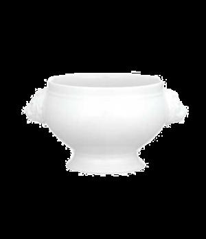 Lion Head Tureen, 20 oz., premium porcelain, Universal