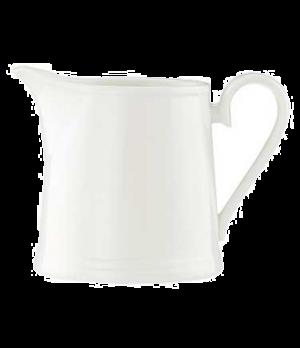 Creamer #4, 8-1/2 oz., premium bone porcelain, Stella Hotel