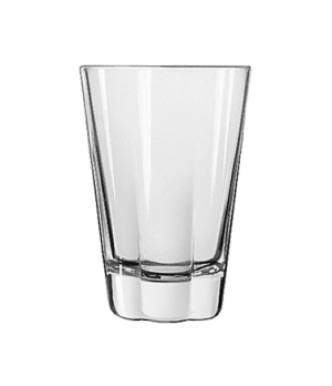 "Beverage Glass, 12 oz., DuraTuff®, DAKOTA, (H 4-7/8""; T 3-3/8""; B 2-3/8""; D 3-3/"