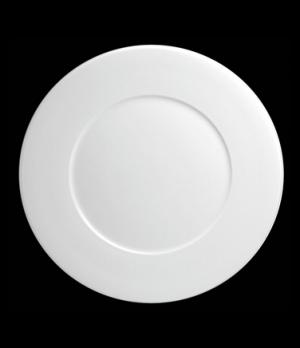 "Plate, 8-1/4"" dia. (5-5/8"" well), round, flat, porcelain, Tria, Wish (minimum ="