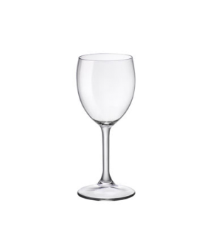 Wine Glass, 8-1/2 oz., pulled stem, tempered, Bormioli, Dulcinea (USA stock item