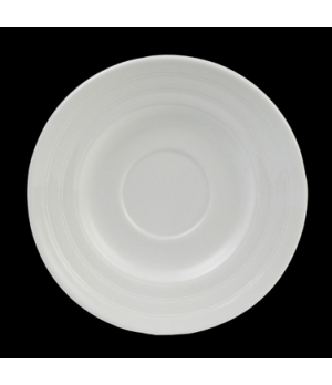 "Soup Stand/Saucer, round, 6-1/2"" dia., single well, Performance, Arondo, white ("