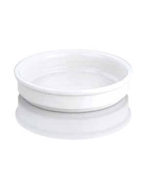 """Crème Catalan Dish, 5-1/2"""" dia., round, 230513BL, porcelain, Pillivuyt, General"""