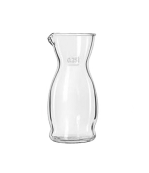 Carafe, 8-1/2 oz., imported from Italy