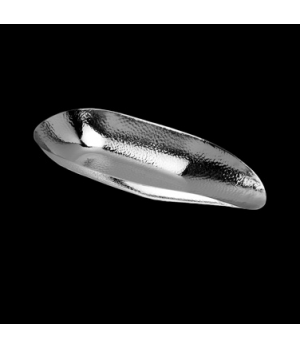 "Bowl, 16"" x 6-1/2"" x 2-3/8"", almond shape, 18/10 stainless steel, WNK Accessorie"