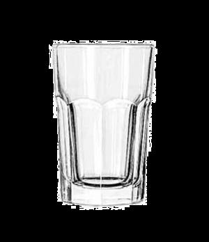 "Beverage Glass, 10 oz., DuraTuff®, GIBRALTAR®, (H 4-3/4""; T 3-1/8""; B 2-1/2""; D"