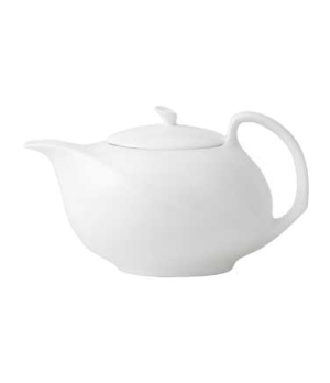 Solar Teapot 1.9P, dishwasher safe, bone china, white (priced per case, packed 4