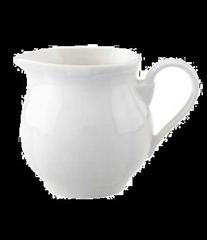 Creamer #4, 8-1/2 oz., premium porcelain, La Scala