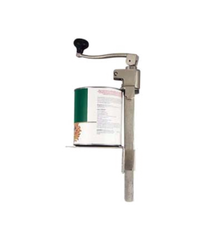 """Can Opener, 14"""", table mounted, heavy duty, for cans up to 1 gallon, heat treate"""
