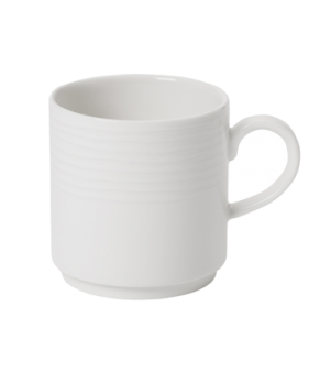 Mug, 9-1/4 oz., stackable,  premium porcelain, Sedona Fuction