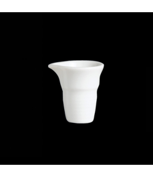 Creamer, 1/2 oz., unhandled, porcelain, Aura, Rene Ozorio (USA stock item) (mini