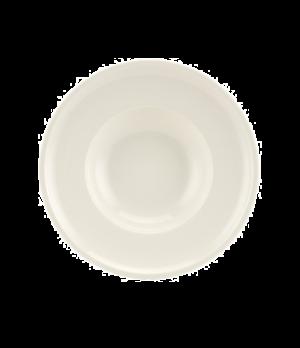 "Rim Soup, 9-3/4"" dia., round, white, premium porcelain, Artesano"