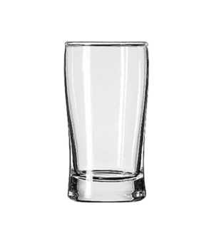 "Split Glass, 7 oz., Safedge® Rim guarantee, ESQUIRE, (H 4-5/8""; T 2-3232/8"";  2-"