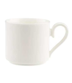 Cup #8, 3-1/2 oz., stackable, premium bone porcelain, Stella Hotel