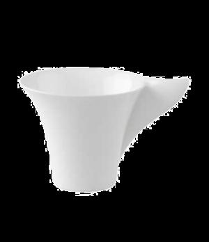 Cup, 3-1/2 oz., premium bone porcelain, New Wave Premium (Special Order)