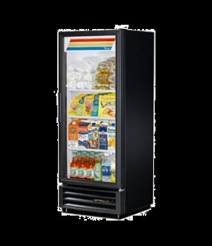 Refrigerated Merchandiser, one-section, (3) shelves, black vinyl exterior, white