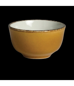 Club Sugar/Bouillon Cup, 8 oz., vitrified china, Performance, Terramesa, mustard