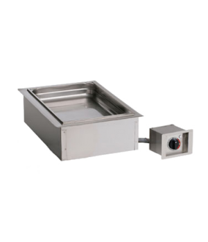 "Halo Heat® Hot Food Well Unit, Drop-In, Electric, (1) 12"" x 20"" full-size pan ca"