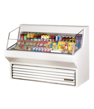 "Horizontal Air Curtain Merchandiser, 60""L, 43-3/8""H, stainless steel exterior, w"